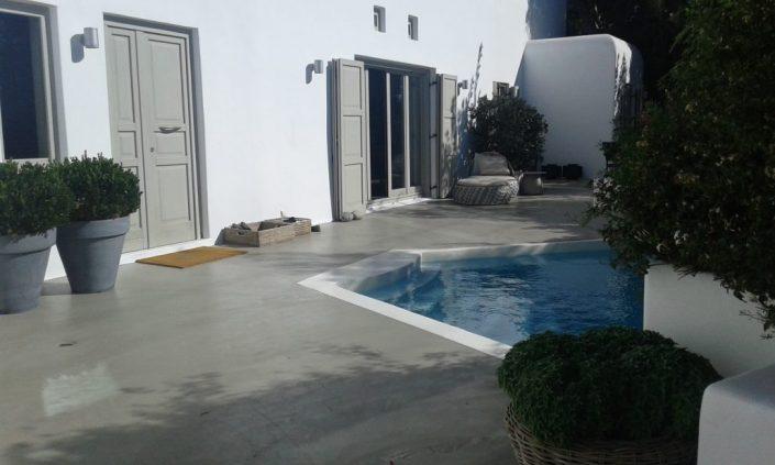 DAMASK_beton cire_Mykonos residence_1