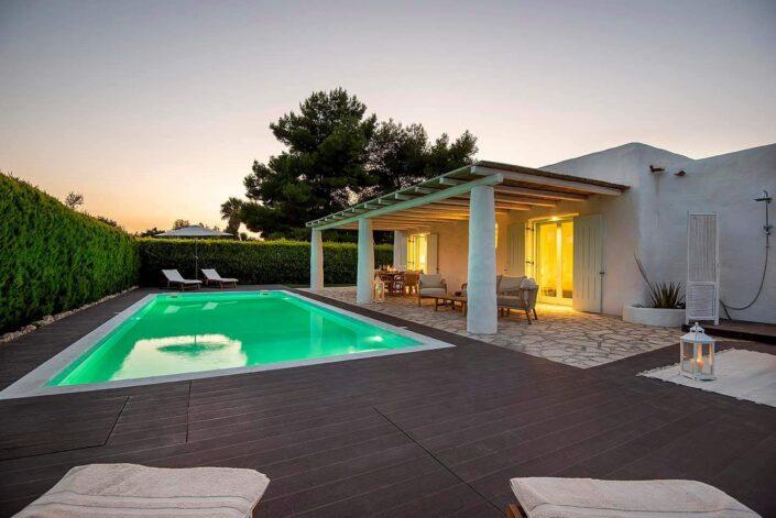 White Pearl Villa Kos_pool view_a_Damask atelier