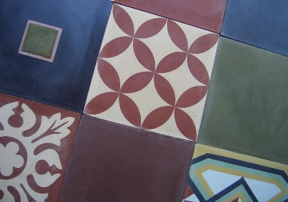 Cement tiles-damask2