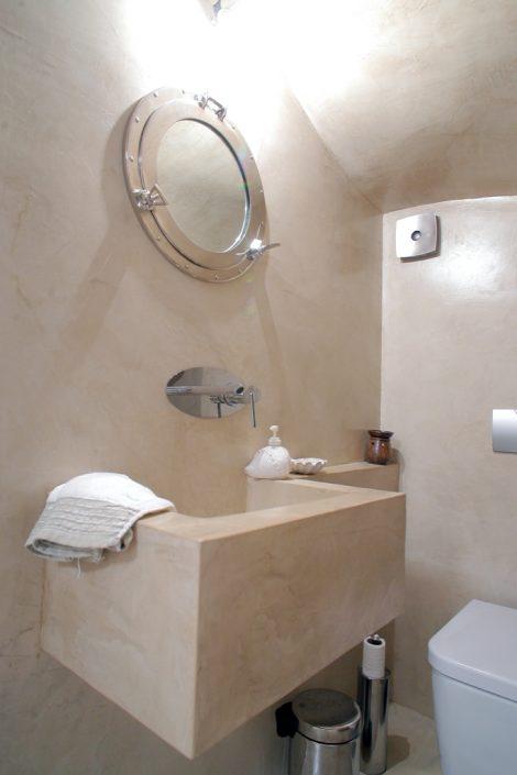 DAMASK_beton cire bath_halkidiki_residence