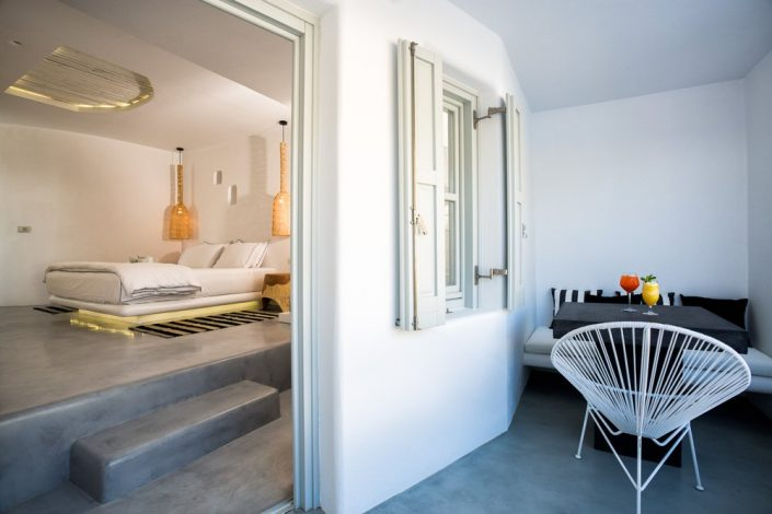 DAMASK_beton cire_Blue Sand Luxury Hotel_Folegandros