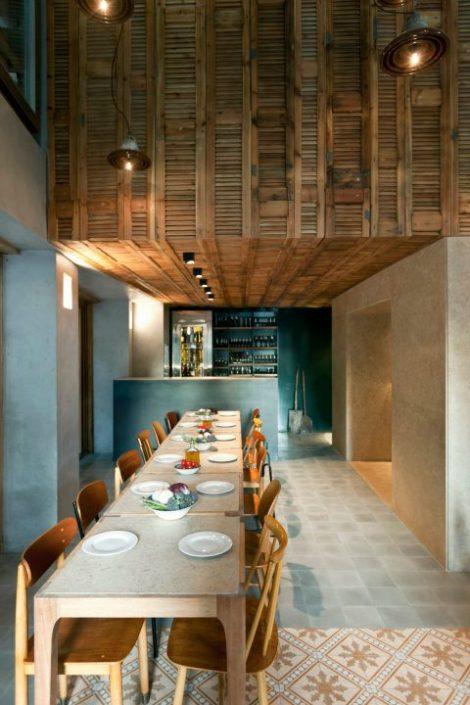 DAMASK_cement tiles_Capana restaurant_Athens