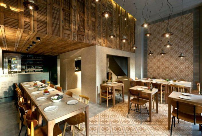 DAMASK_tsimentoplakakia_Capana restaurant_Kolonaki_Athens