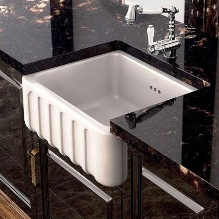Fireclay sinks-damask
