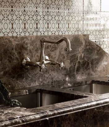 Kitchen Taps-damask