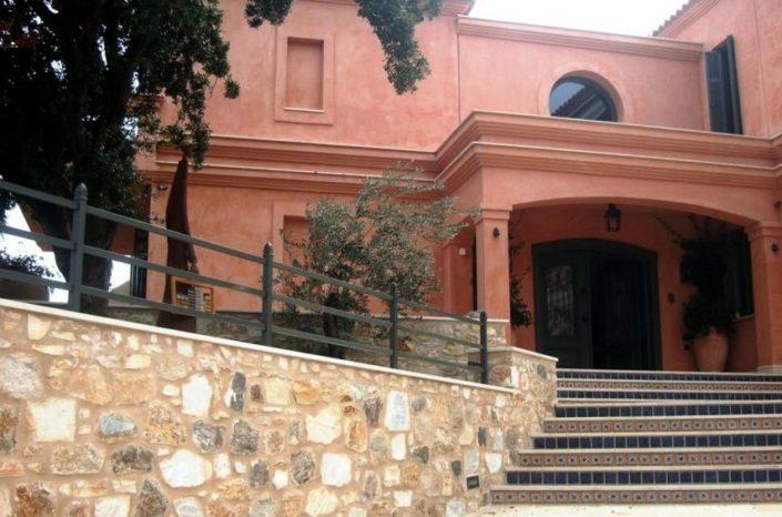 lime plasters _Damask on Kavala residence