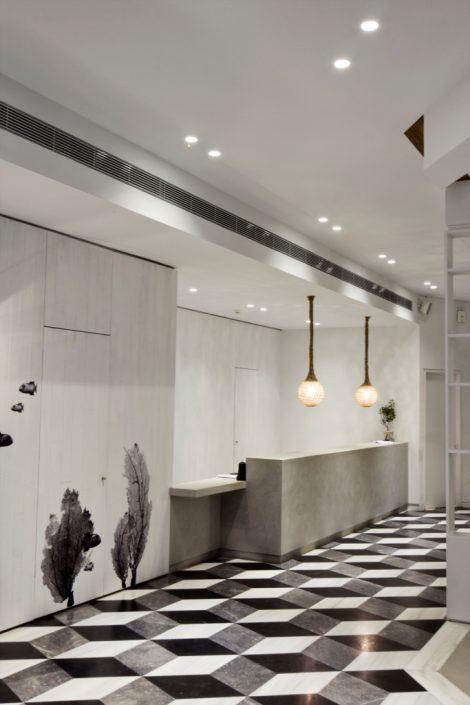 DAMASK projects_ beton cire_Aqua bay hotel_Zakynthos_2