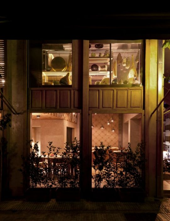 DAMASK projects_Capana restaurant_Kolonaki_Athens