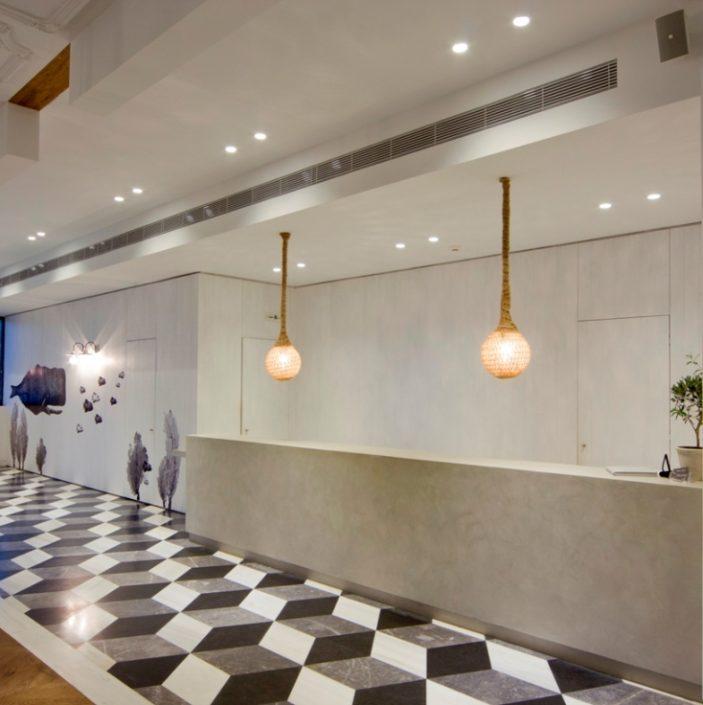 DAMASK projects_beton cire_Aqua bay hotel_Zakynthos_5