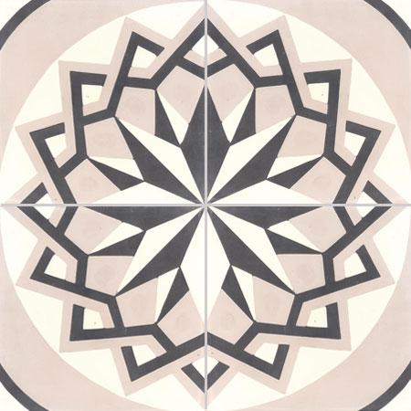 Encaustic tiles Damask