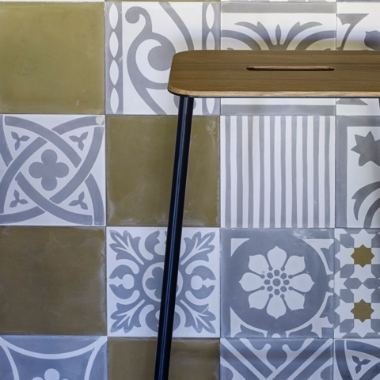 cement tiles by Damask