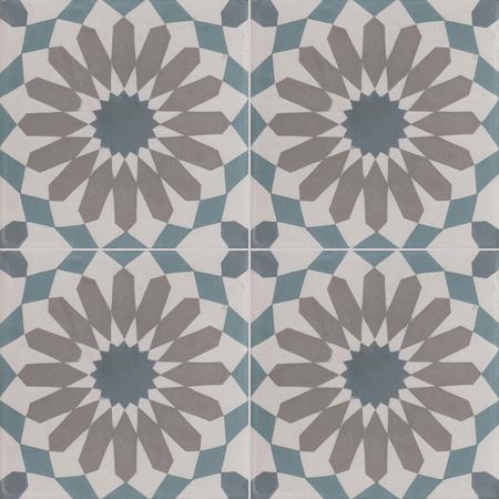 Oriental Cement Tiles Damask