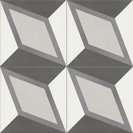 Modern Handmade Cement Tiles Damask