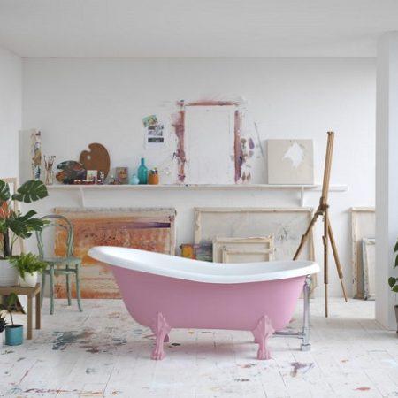 5_Freestanding Stone Baths_Damask_pink_