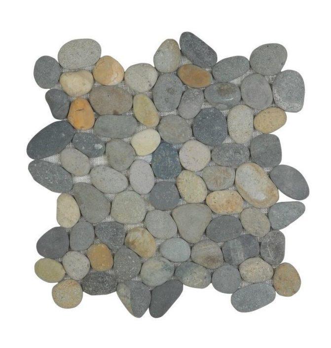 Damask_pebbled floors_pebbles_natural earth