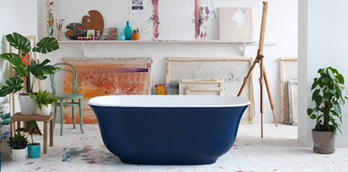 Freestanding baths_Damask_blue
