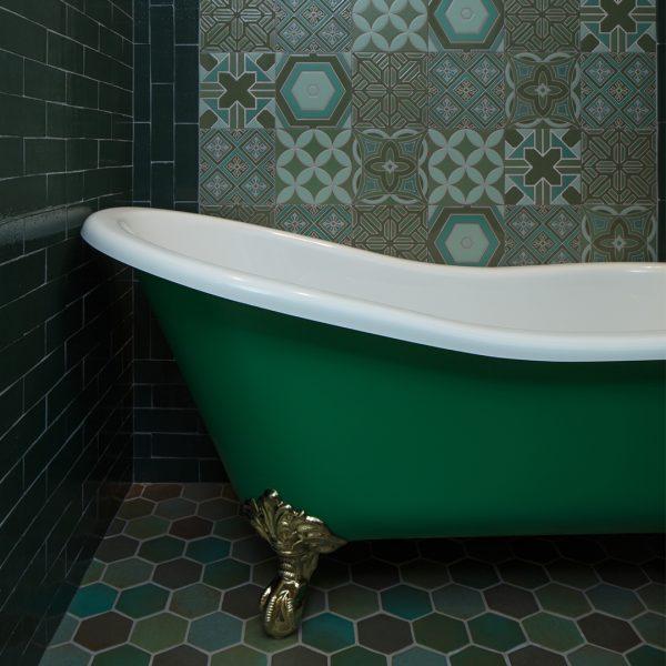 Freestanding baths_Damask_green