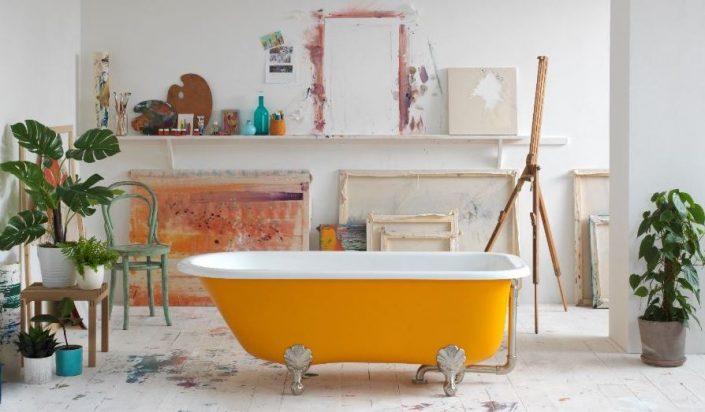 Freestanding baths_Damask_yellow