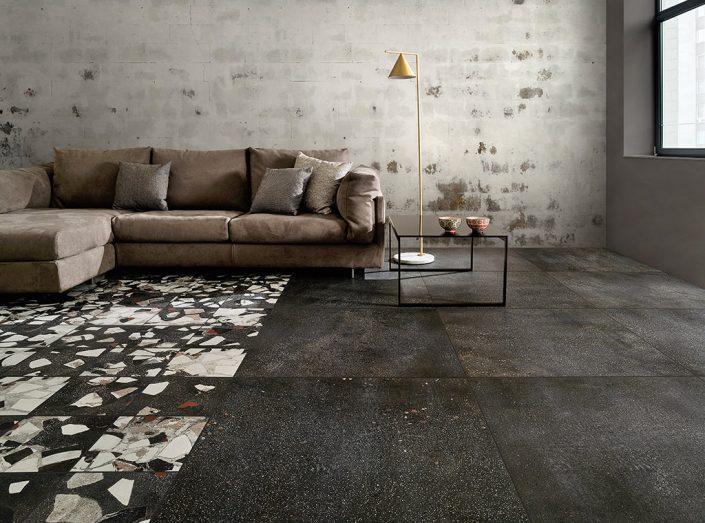 Gres pocellanato_Tile like concrete by Damask by Damask_3a_Grafitee