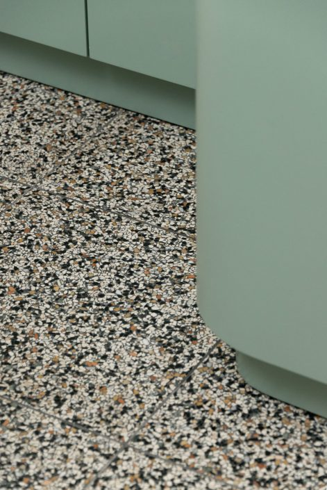 Thessaloniki_ recidence_Terrazzo floors_Damask_detail