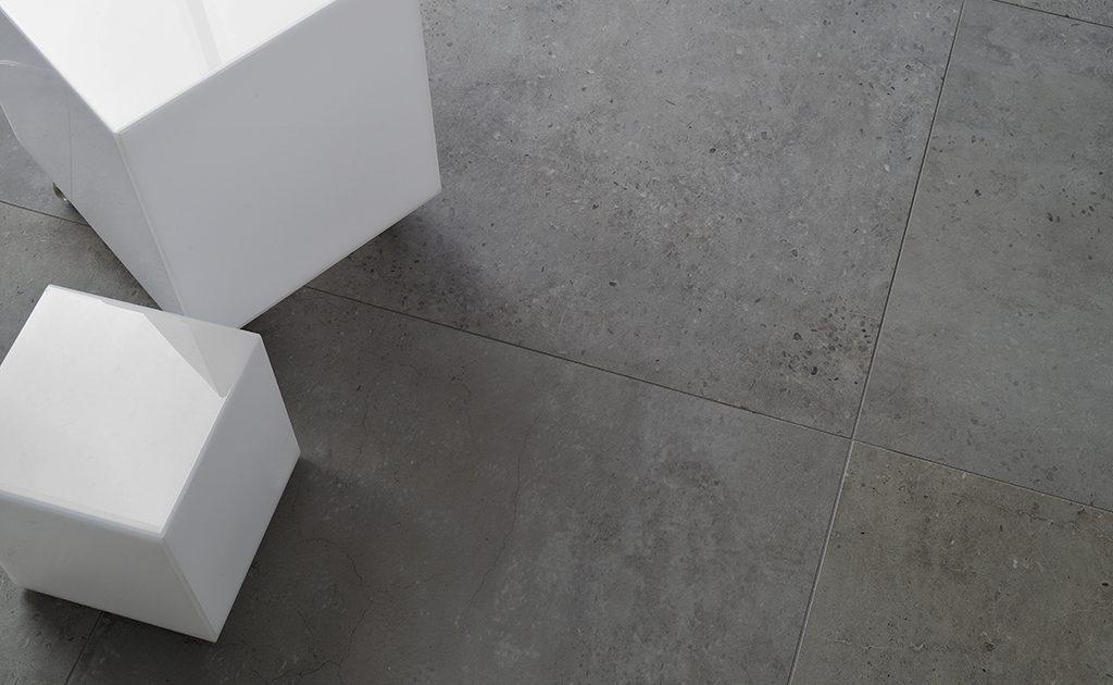 Tile like concrete_Damask_2_Dark Grey