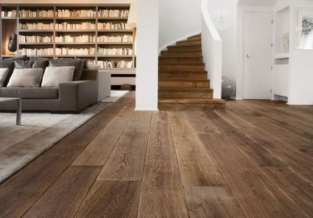 Wooden floors_Damask materials