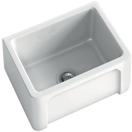 fireclay kitchen sink_Boulogne_Damask_2b