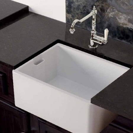 fireclay kitchen sink_Butler_Damask_6