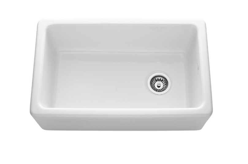 fireclay kitchen sink_Farmhouse_Damask_3