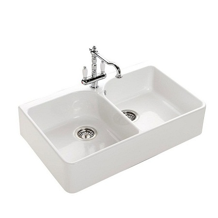 fireclay kitchen sink_Victor bis_Damask_5e