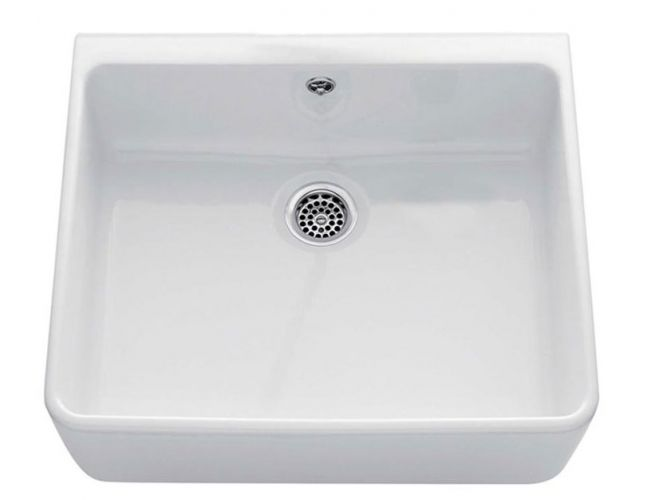 fireclay kitchen sink_Victor_Damask_4