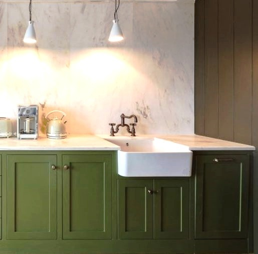 fireclay kitchen sink_Victor_Damask_4b