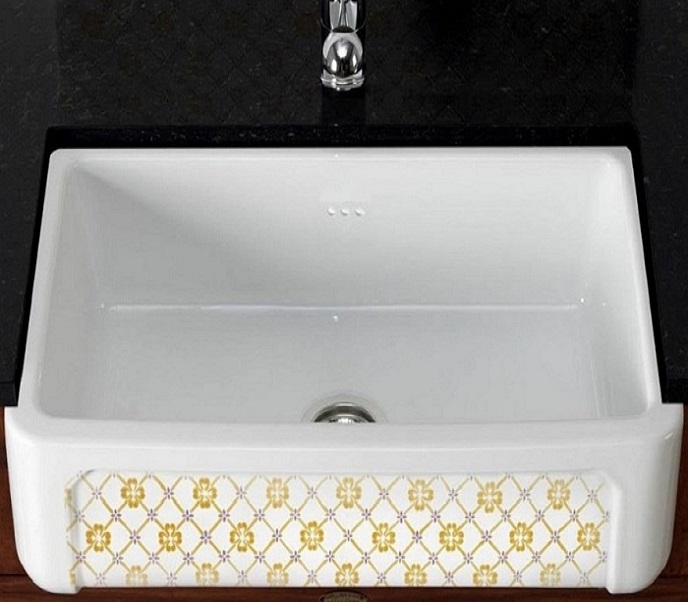 fireclay sink_Country_Damask_12a
