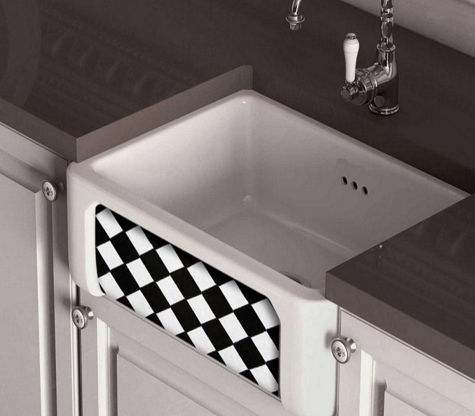 fireclay sink_b & w_Damask_11a