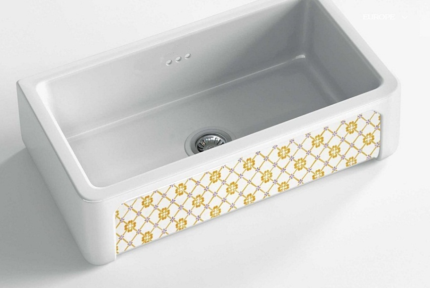 fireclay sinks_Country_Damask_12medium