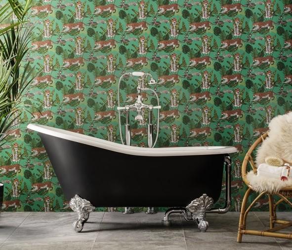 Freestanding baths_Damask_black_zoo_