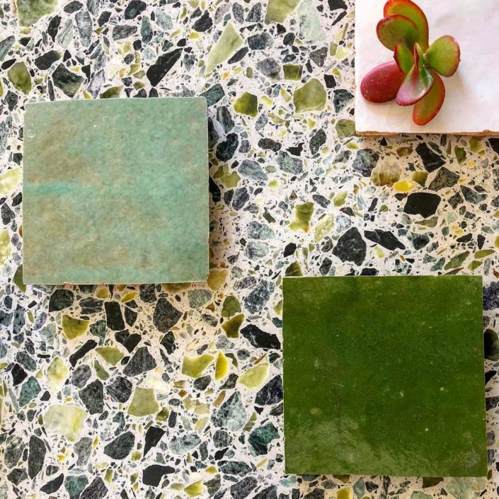 mosaic slabs _Damask 1