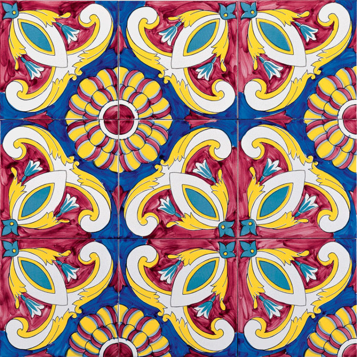ceramic tiles _Majolica by Damask_widget photo tiles
