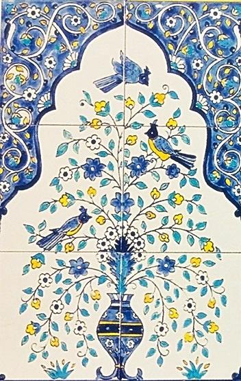 oriental tiles_murals_Damask_10b