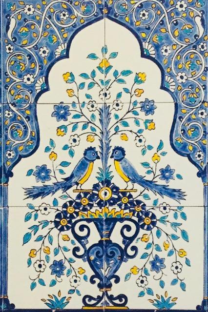 oriental tiles_murals_Damask_11