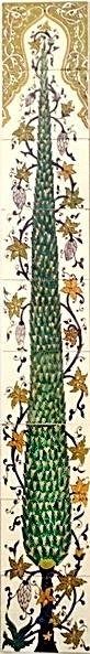 oriental tiles_murals_Damask_14b