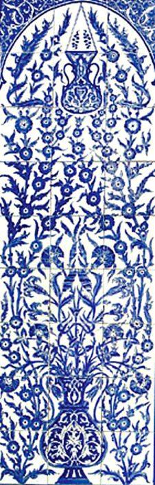 oriental tiles_murals_Damask_15a