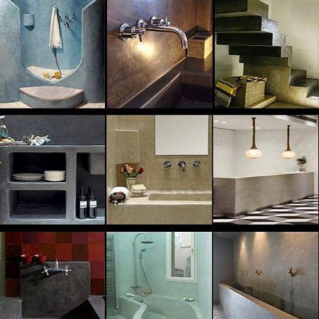 beton cire selection