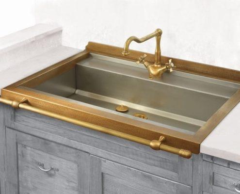 metal kitchen sink_Damask_stainless steel_5