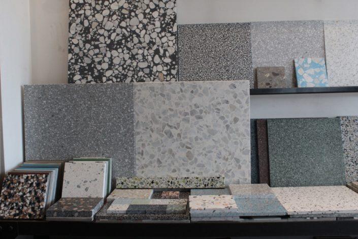 Terrazzo tiles Showroom Athens Damask