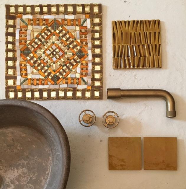 bath taps clay plasters handmade tilkes_Thessaloniki