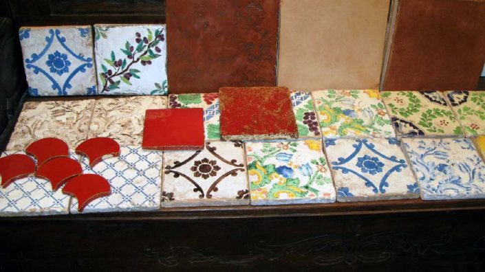 handmade tiles Thessaloniki