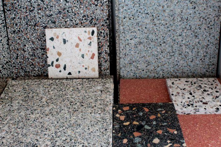 terrazzo tiles Thessaloniki Damask