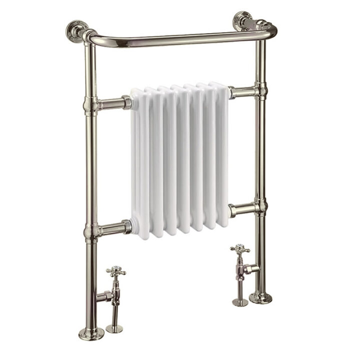 Towel warmer_1_WHITE AND NICKE_Damask