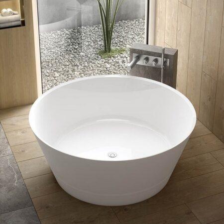 circular free standing bath_Damask_21